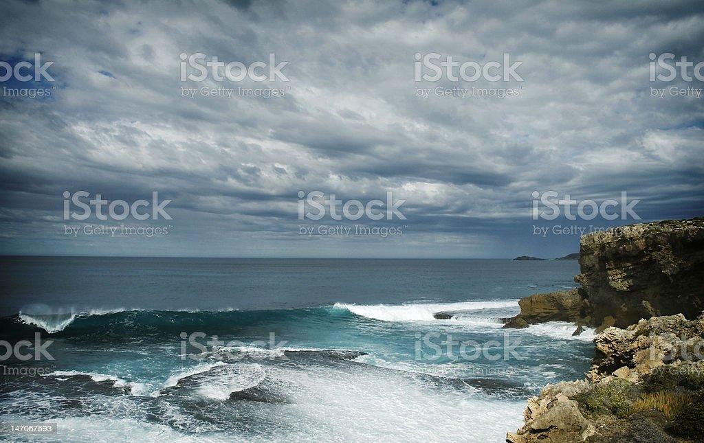 surf encontra o céu foto royalty-free