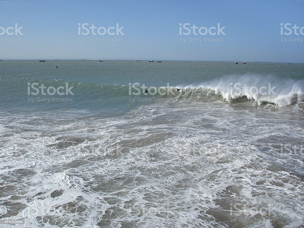 Surf Take off royalty-free stock photo