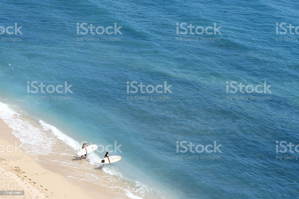 Surf Time stock photo