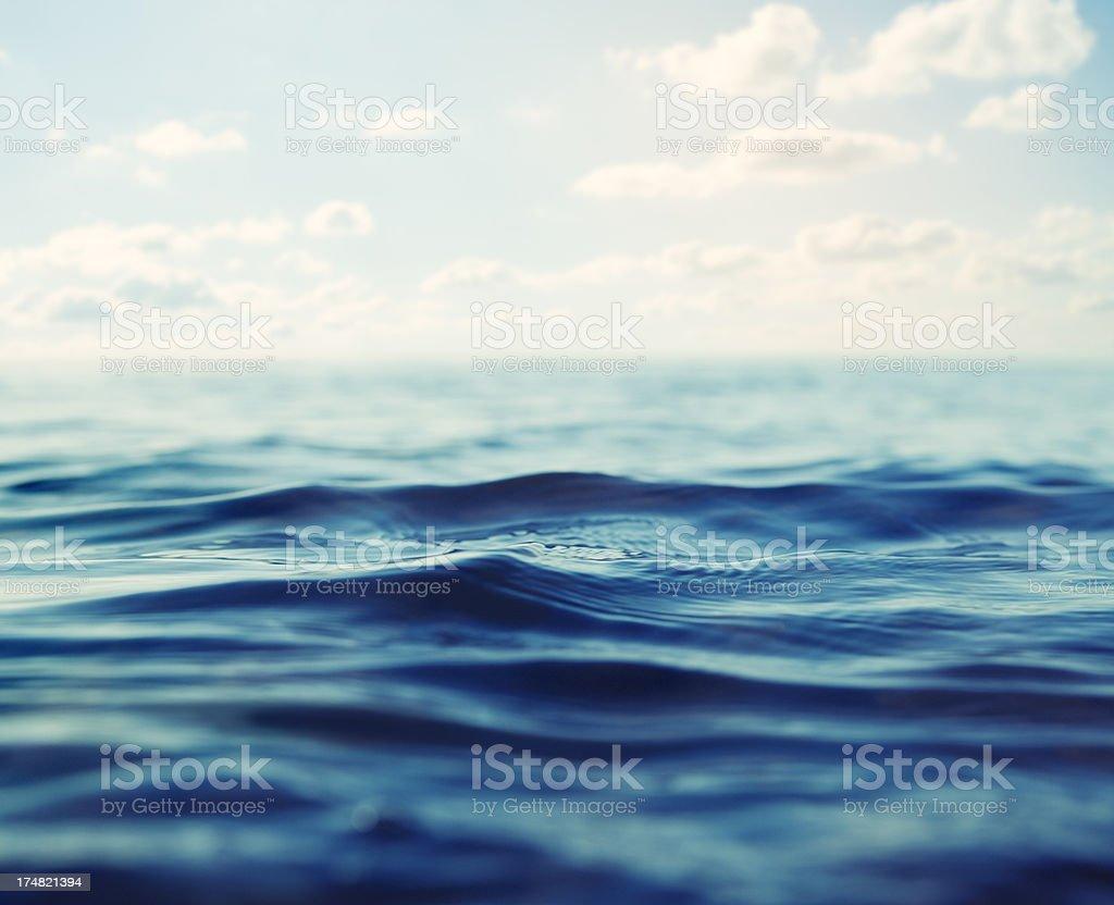 Surface Level royalty-free stock photo