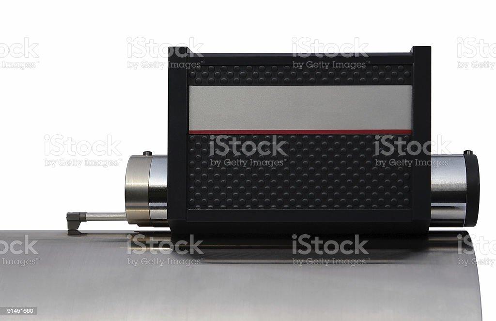 surface measuring tool stock photo