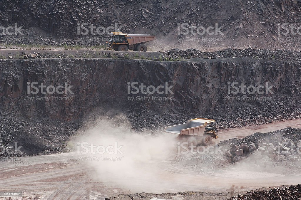 Surface Mine in Germany royalty-free stock photo