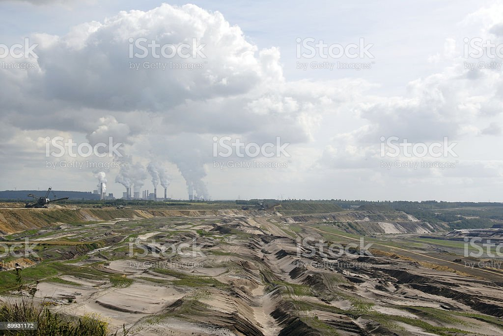surface mining royalty-free stock photo