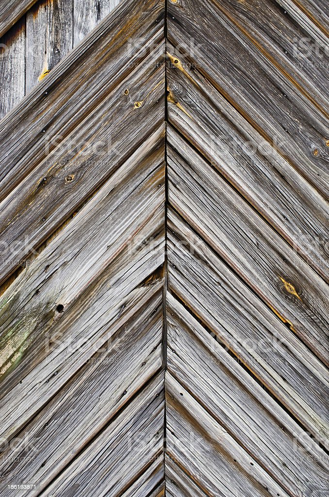 Surface of barn door royalty-free stock photo