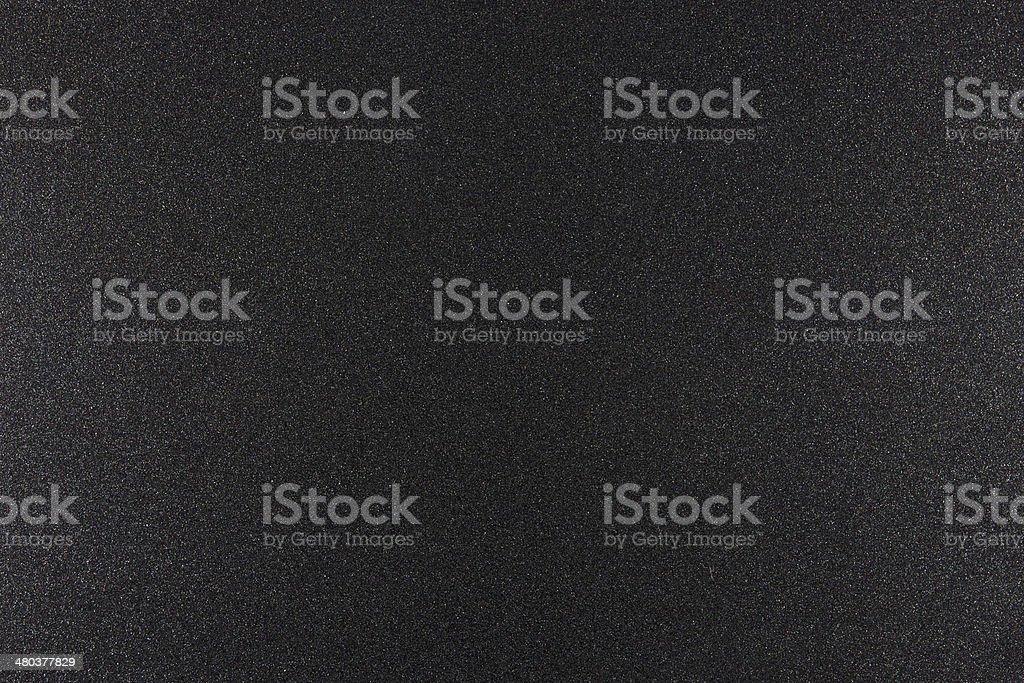 Surface of black coarse iron stock photo