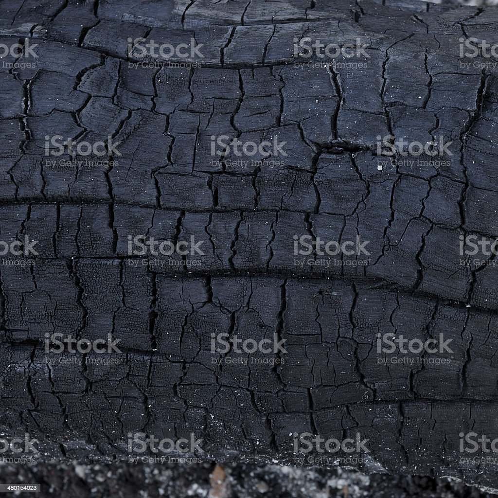 surface of charcoal stock photo