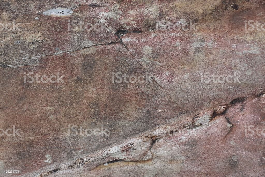 Surface of crack stone as background stock photo