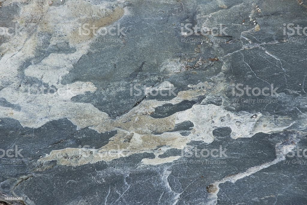 Surface of natural gray-blue stone as background stock photo