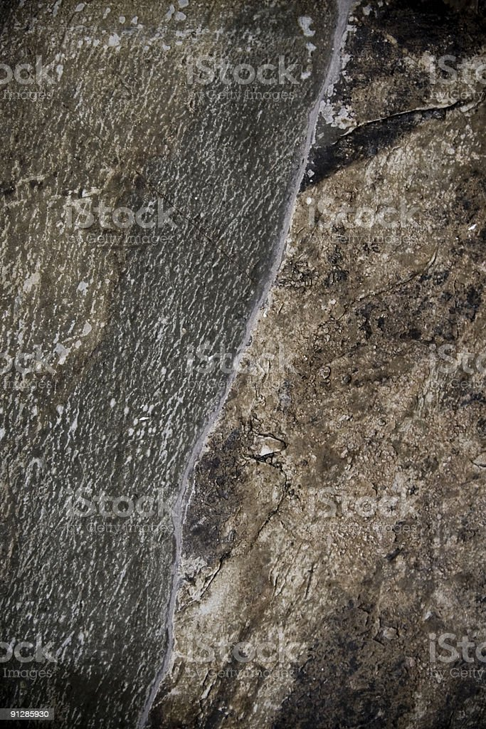 Surface of rock stock photo