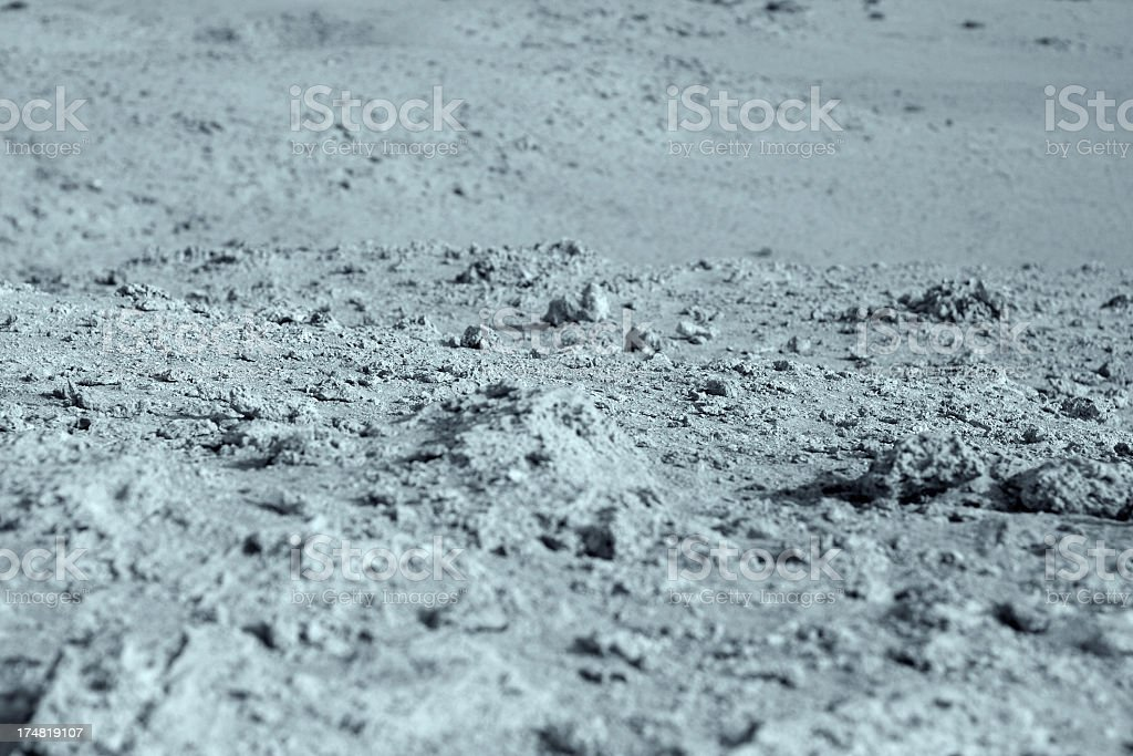 Surface Of The Moon royalty-free stock photo