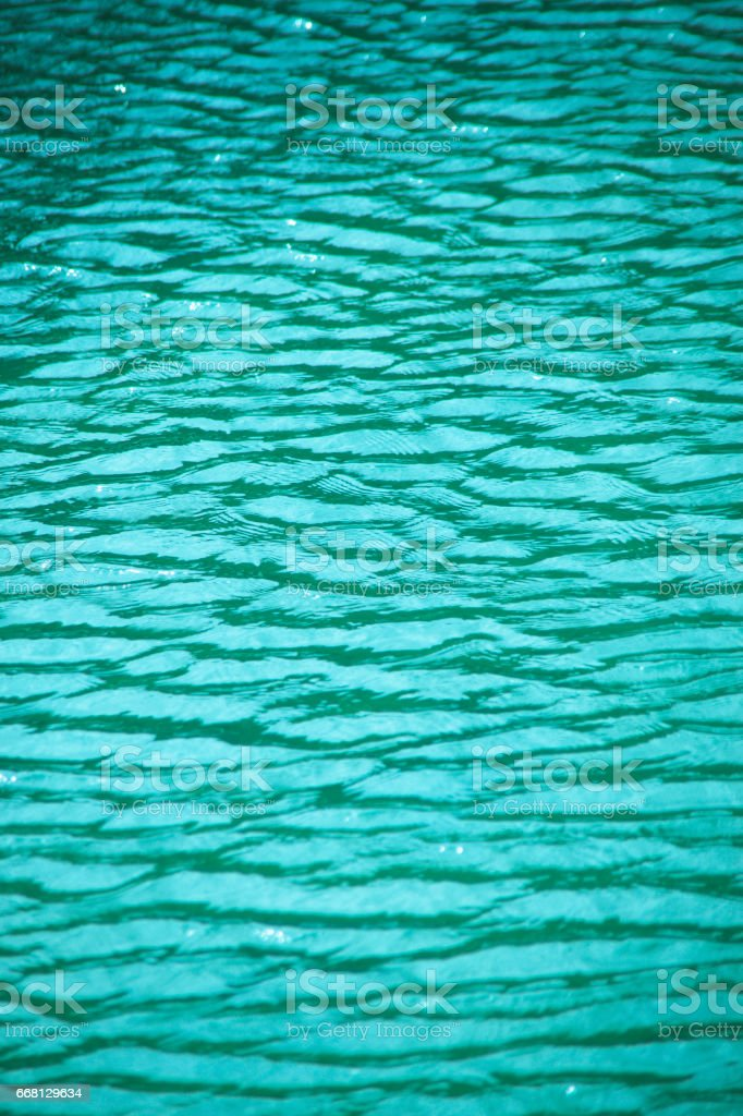 Surface of the water stock photo
