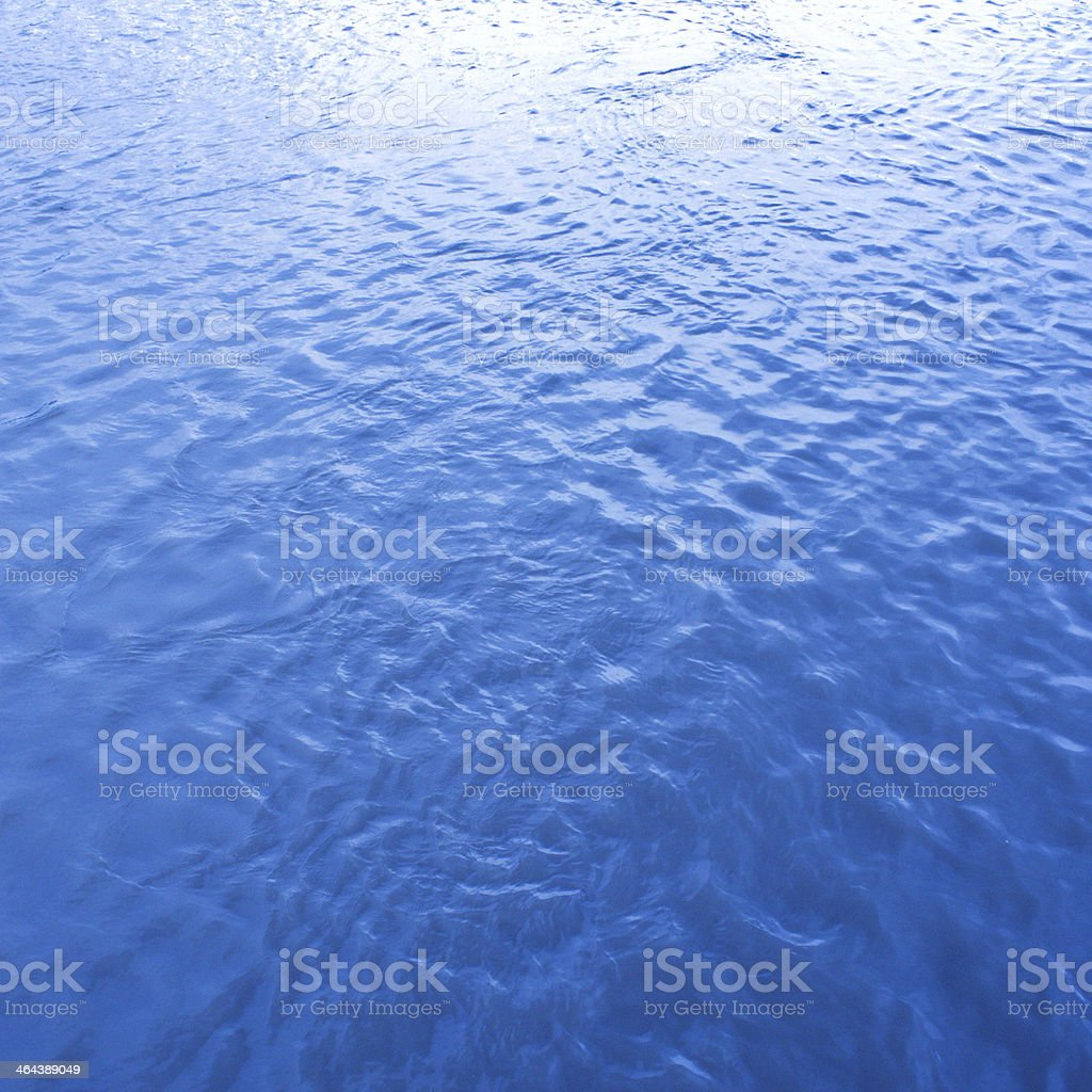 Surface of water for background royalty-free stock photo