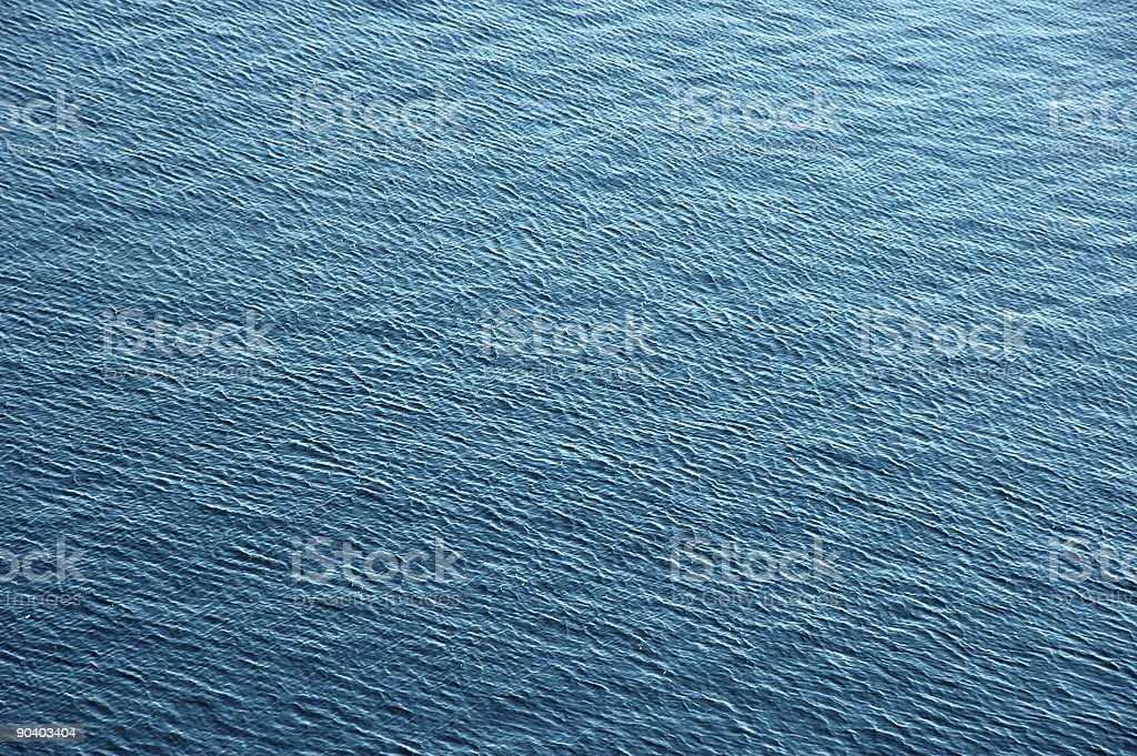 Surface of water royalty-free stock photo