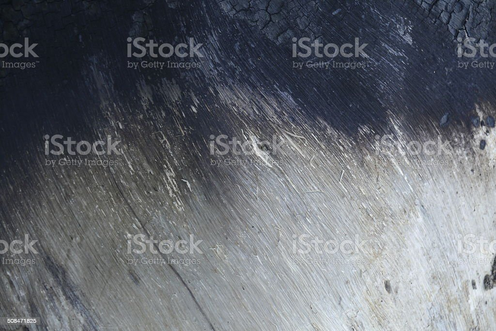 Surface of wood charcoal stock photo