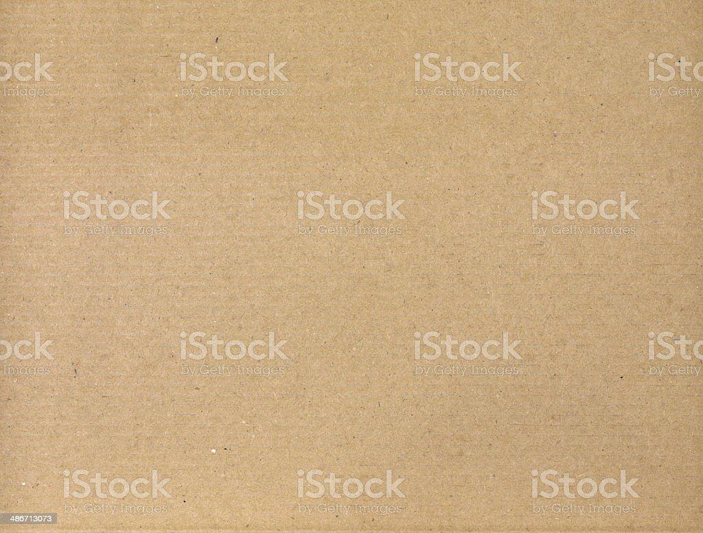 Surface texture yellow cardboard stock photo