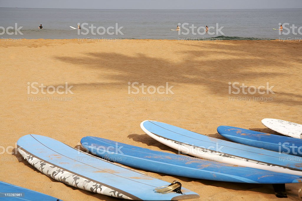 surfbeach royalty-free stock photo