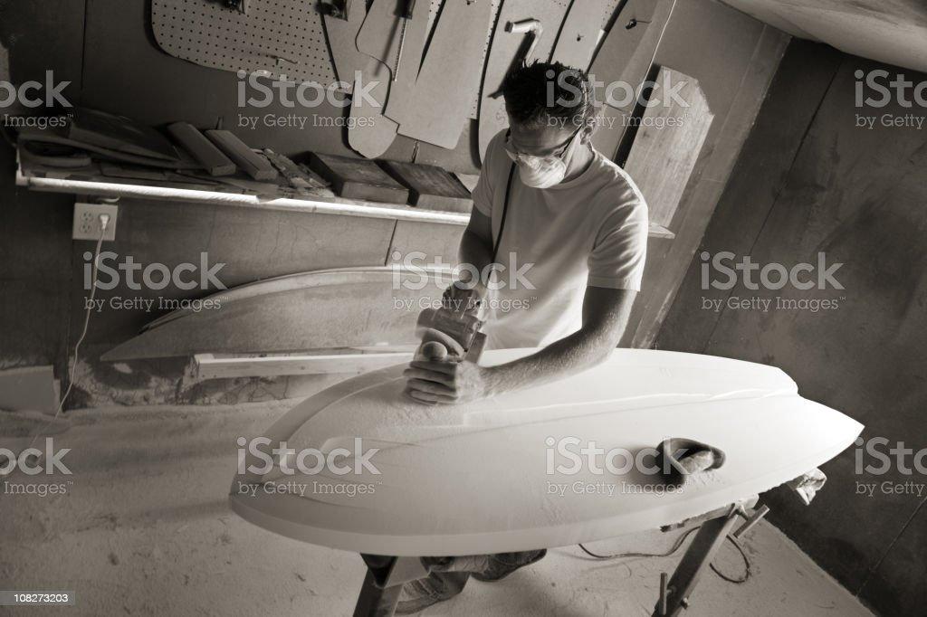 Surfboard Shaper royalty-free stock photo