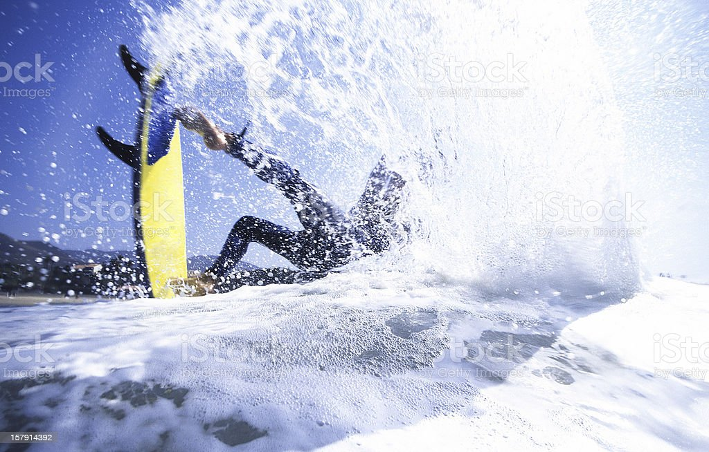 surfer air royalty-free stock photo