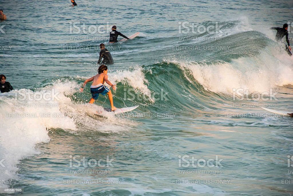 Surfer Boy royalty-free stock photo