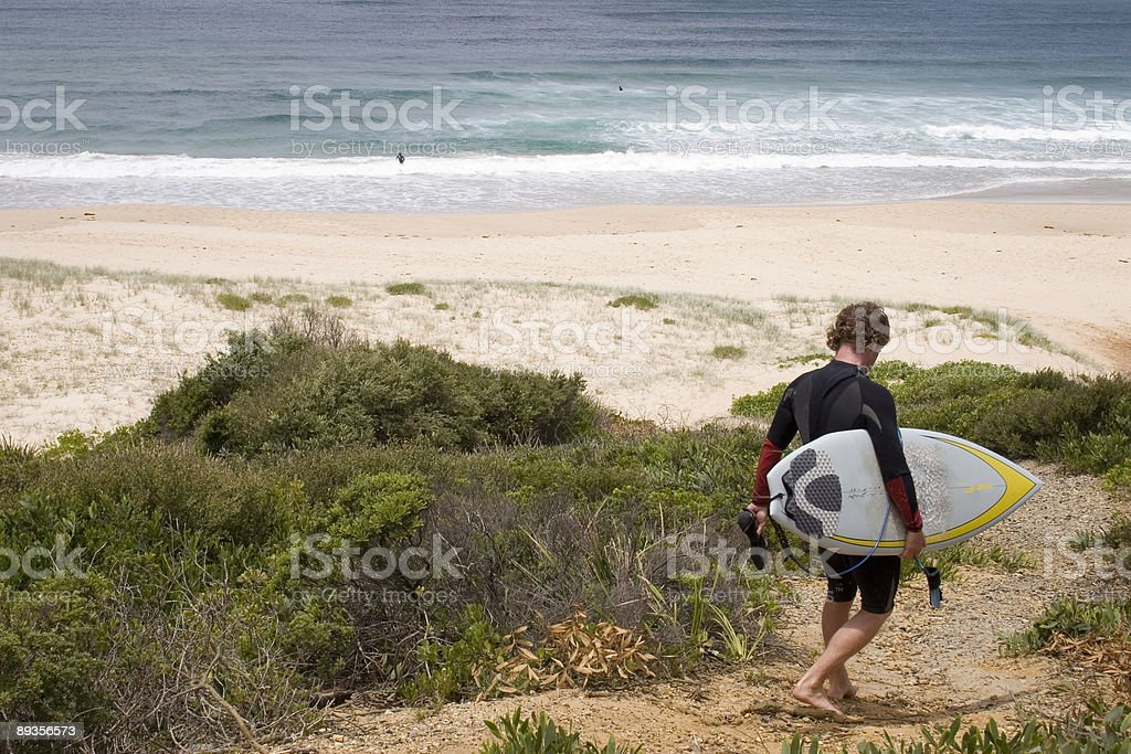 Surfer Boy stock photo
