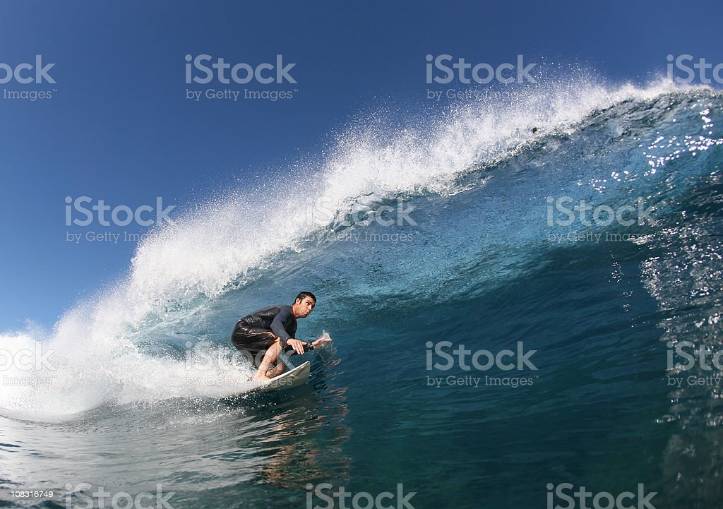 surfer close-up royalty-free stock photo
