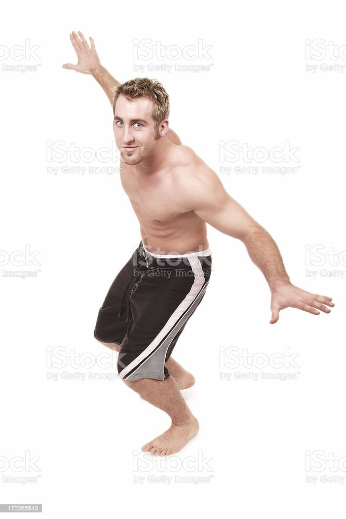 Surfer Dude royalty-free stock photo