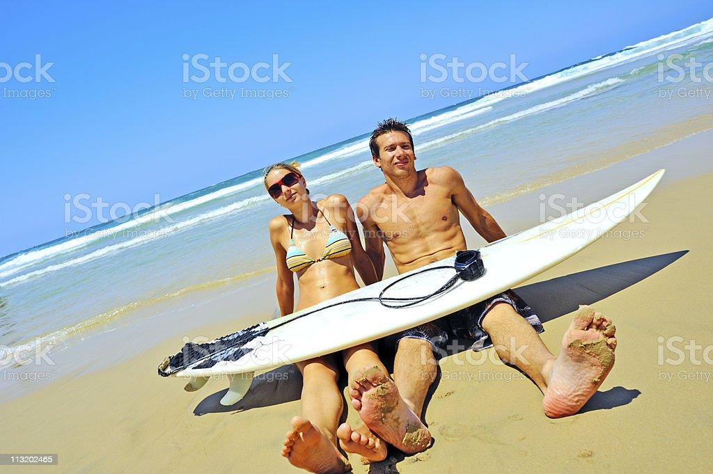 Surfer  lifestyle royalty-free stock photo