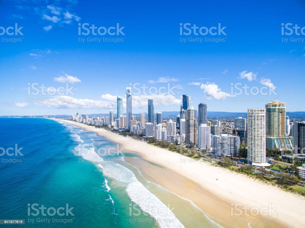 Surfers Paradise Aerial stock photo