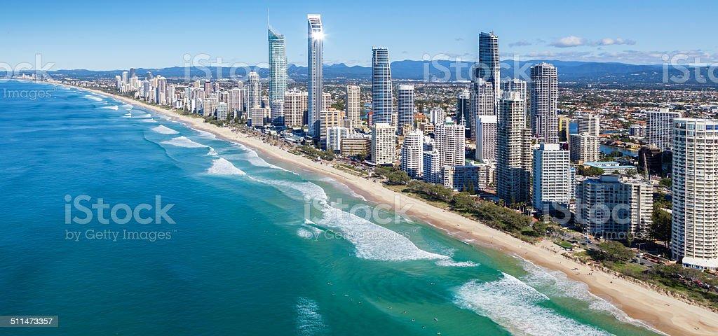 Surfers Paradise Australia stock photo