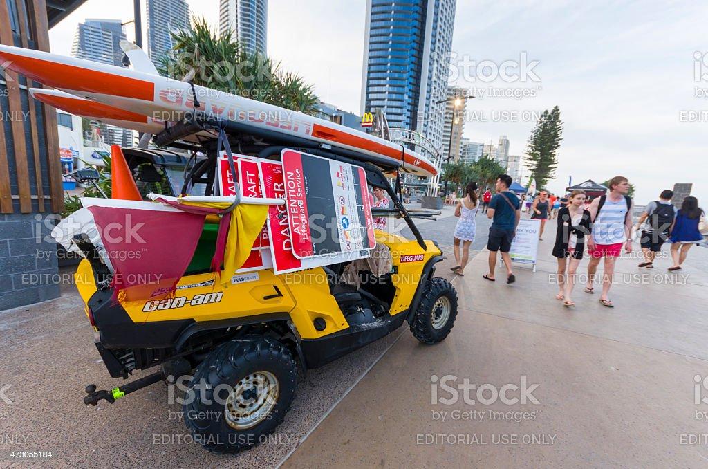 Surfers Paradise Beachfront Markets, Gold Coast Australia stock photo