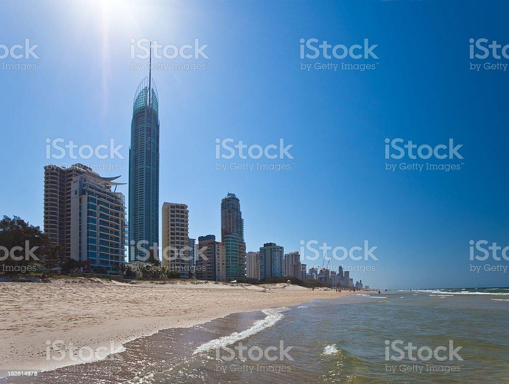 Surfers Paradise, Gold Coast stock photo