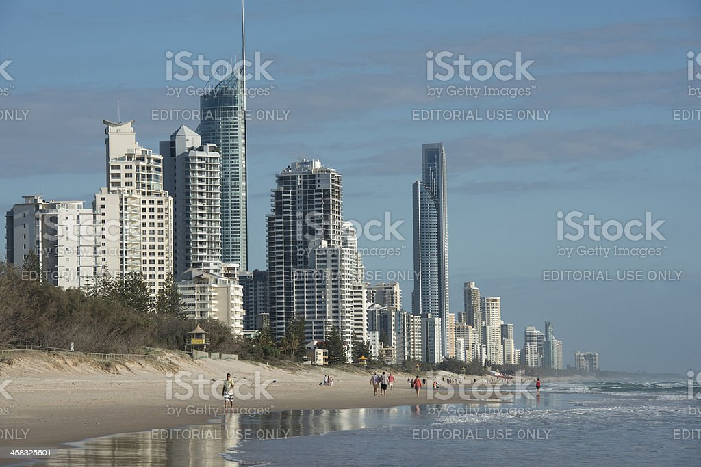 Surfers Paradise. royalty-free stock photo