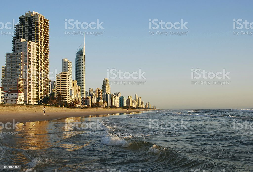 Surfers Paradise,Gold Coast,Queensland Australia royalty-free stock photo