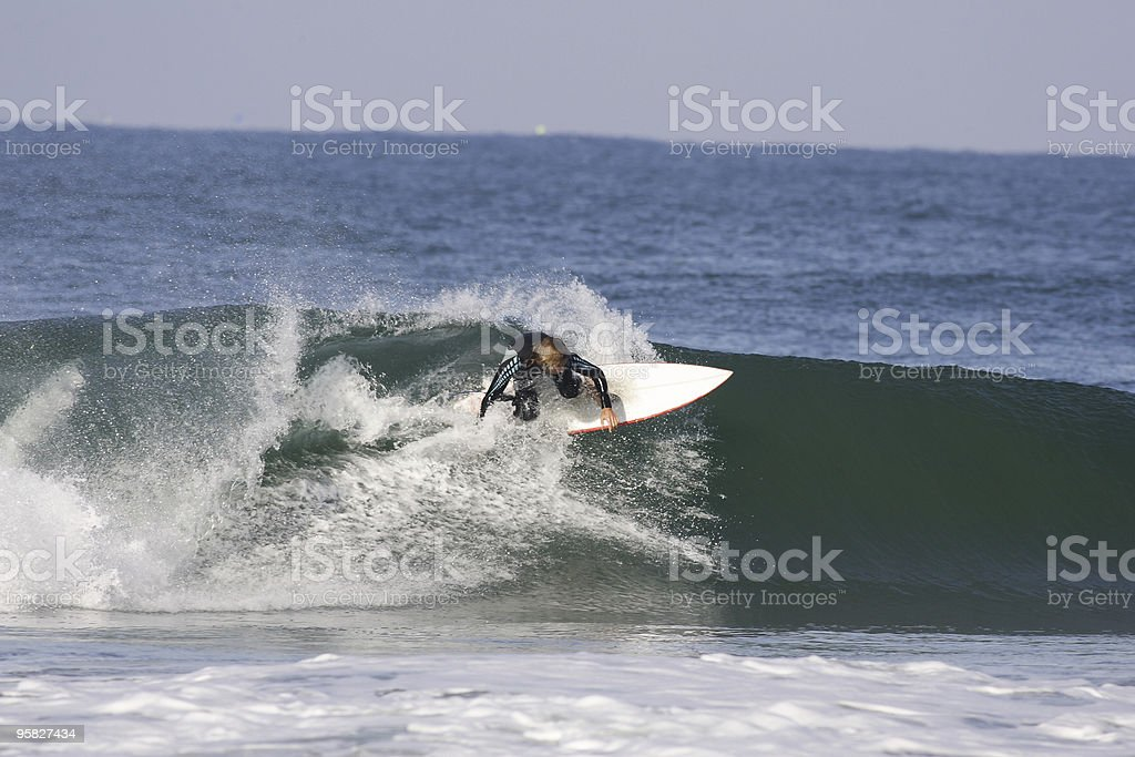surfing france royalty-free stock photo