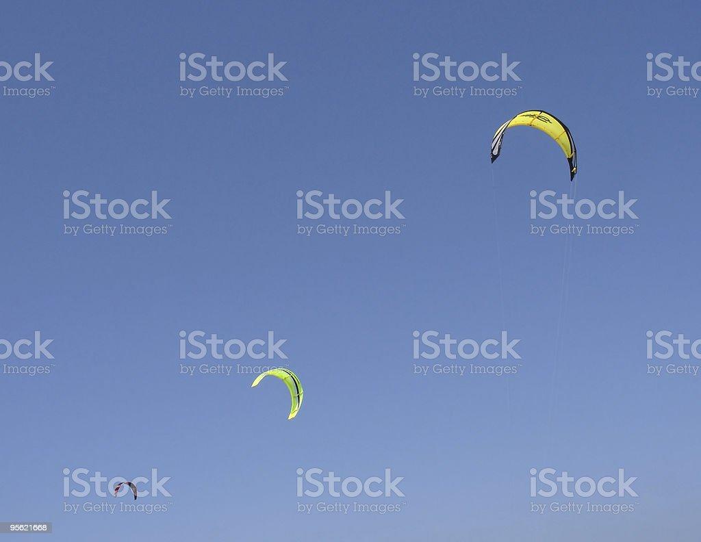 surfing kites royalty-free stock photo