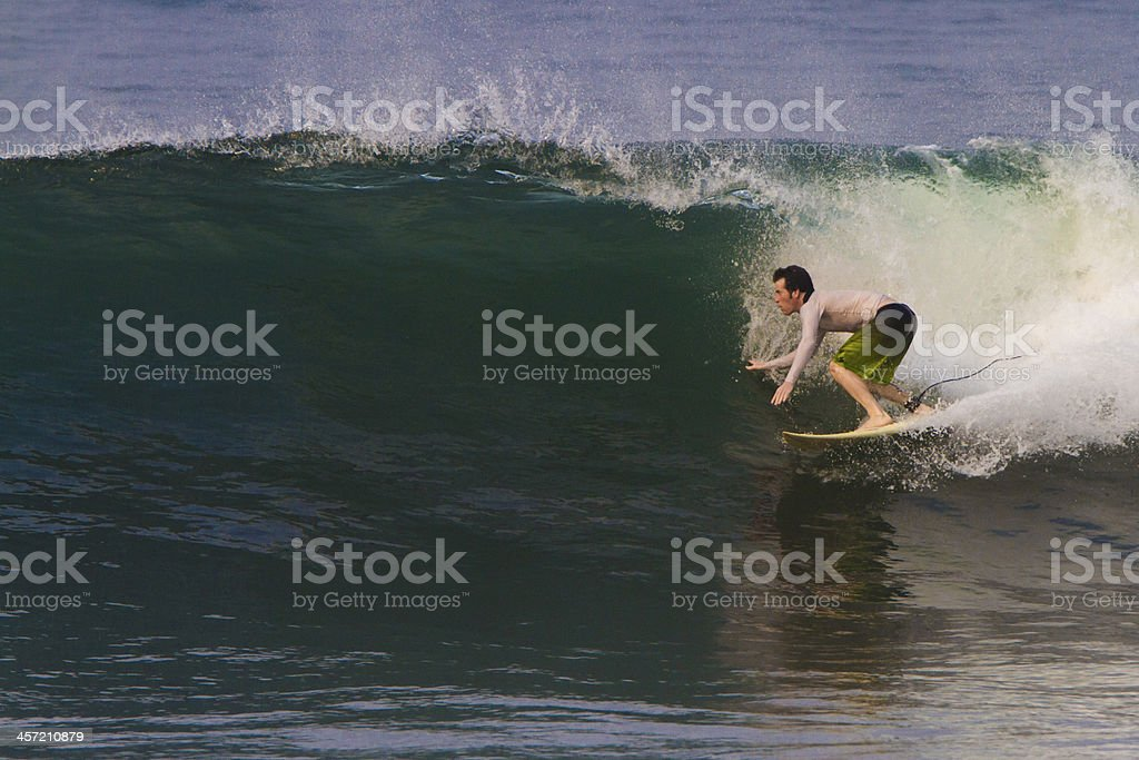 Surfing. stock photo