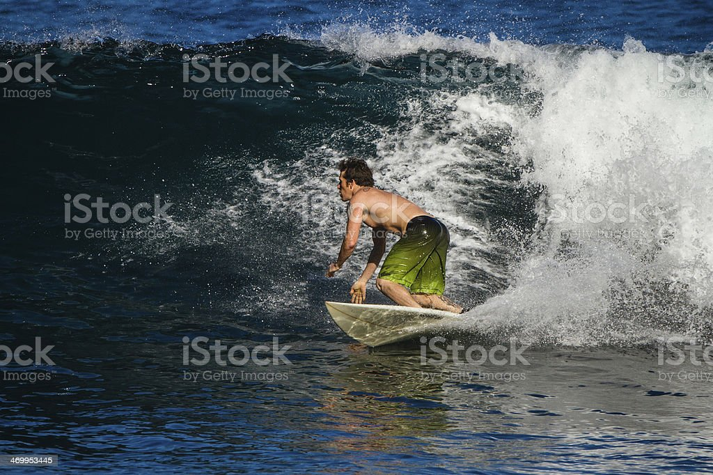 Surfing. royalty-free stock photo