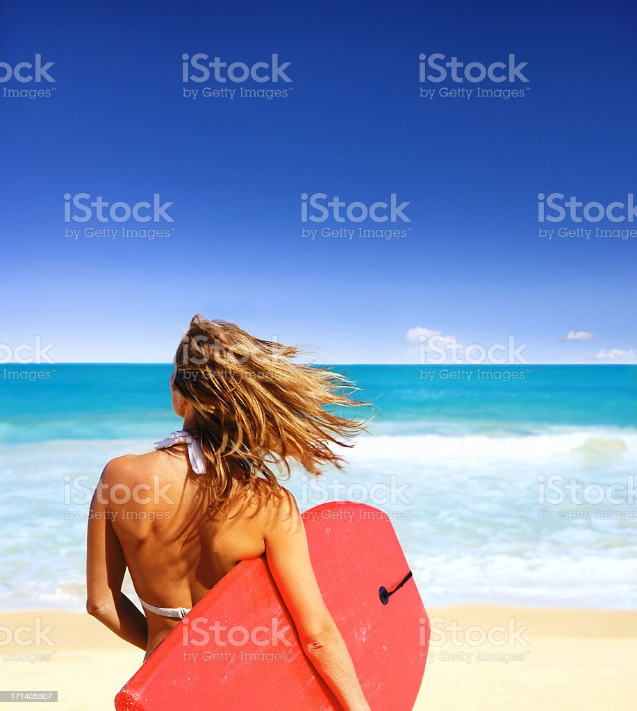 Surf's up! royalty-free stock photo