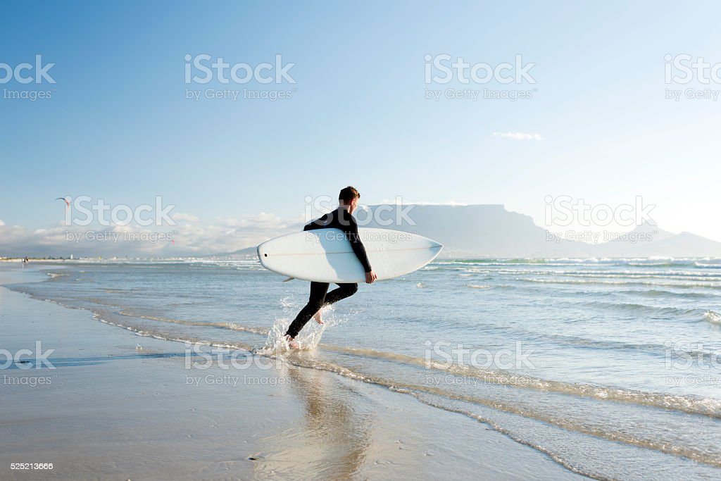 Surfs Up stock photo