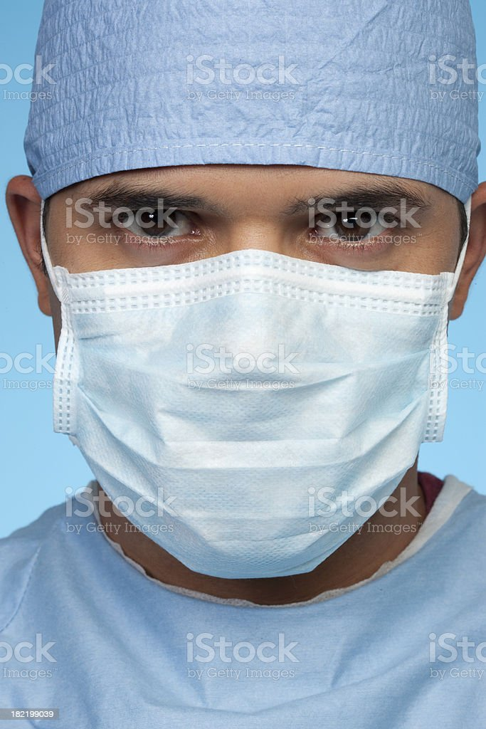 Surgeon Close-Up royalty-free stock photo