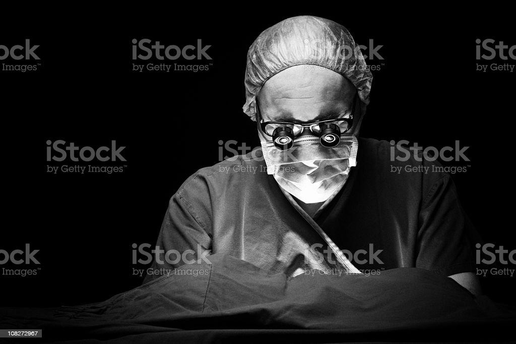 Surgeon royalty-free stock photo