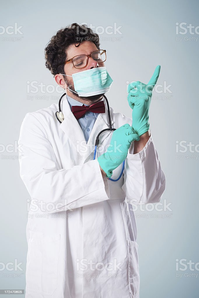 Surgeon royalty-free stock photo