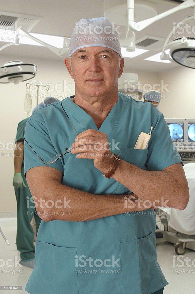 Surgeon stock photo