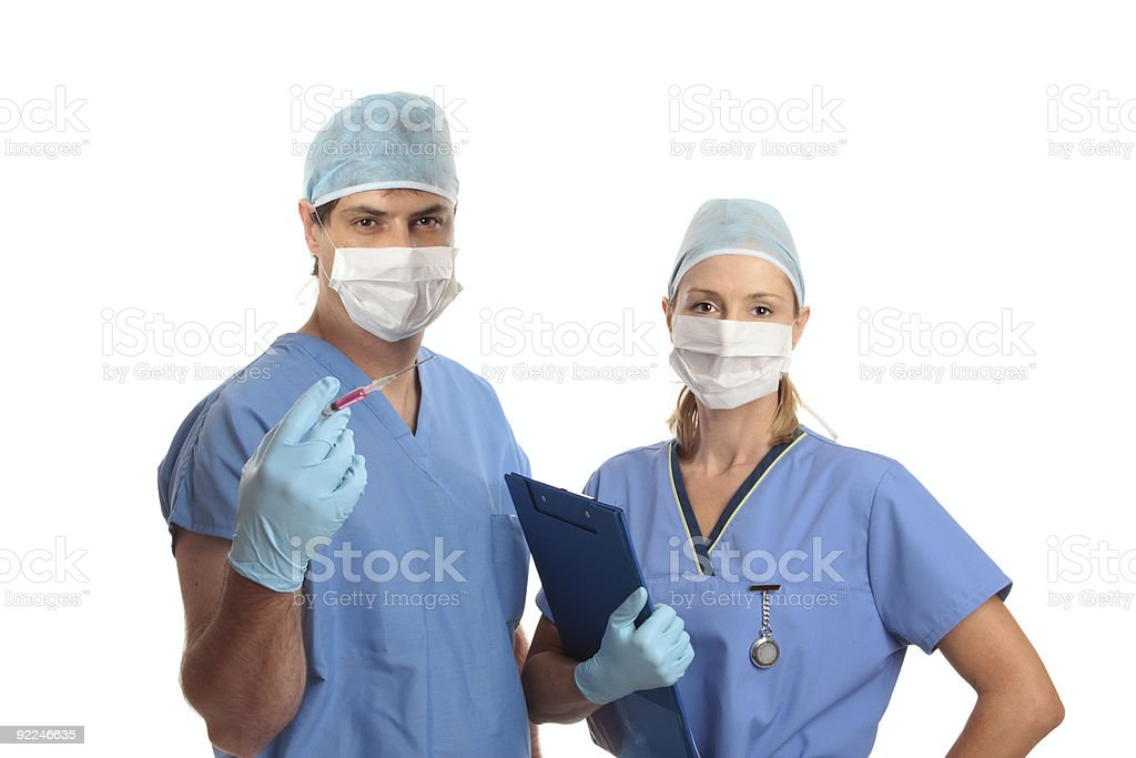 Surgeons royalty-free stock photo
