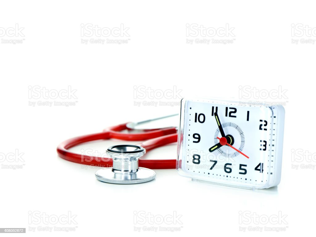 GP Surgery Open Hours stock photo
