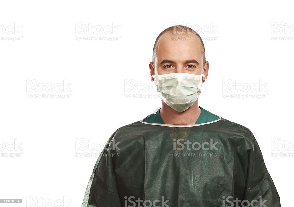 surgery ready for work stock photo