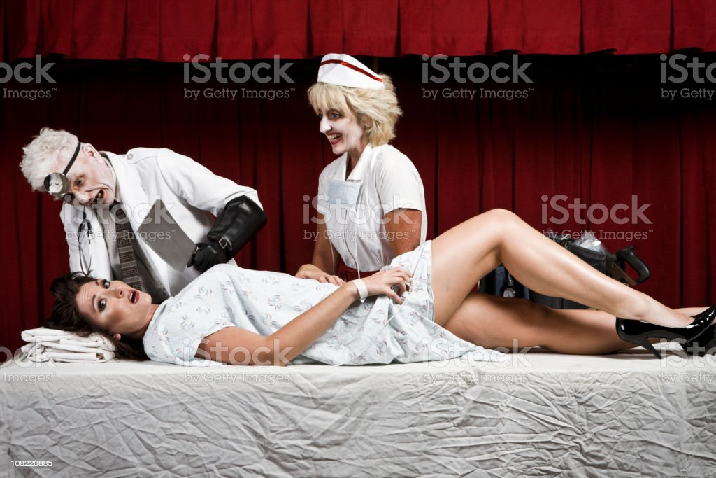 Surgey gone wrong stock photo