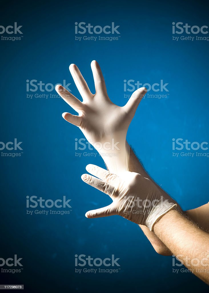 Surgical Gloves royalty-free stock photo