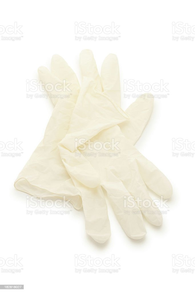 Surgical Gloves. royalty-free stock photo