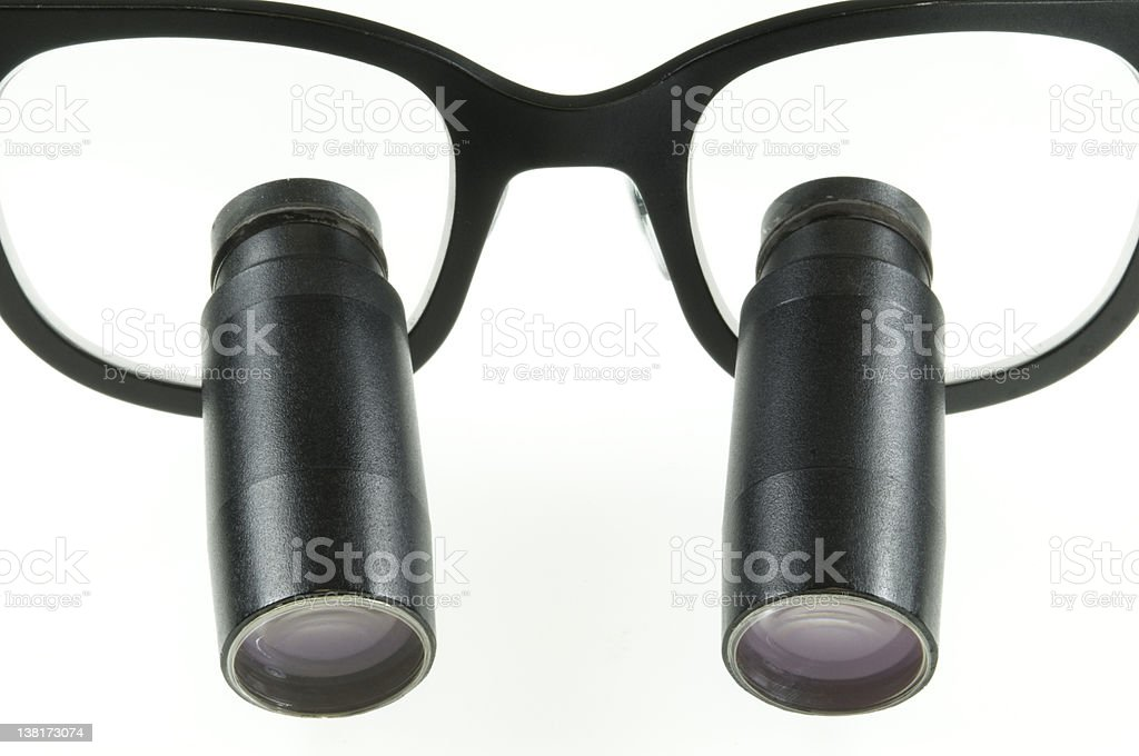 surgical loupes royalty-free stock photo